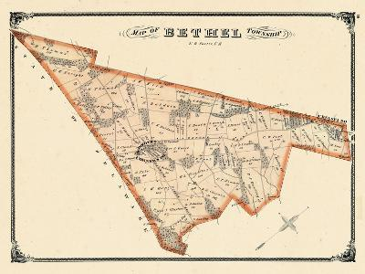 1875, Bethel Township, Booths Corners P.O., Chelsea P.O., Pennsylvania, United States--Giclee Print