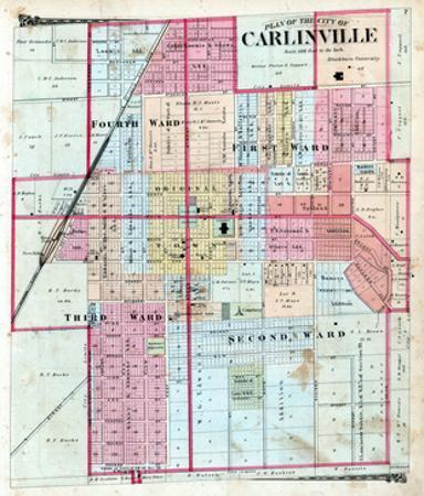 1875, Carlinville City, Illinois, United States