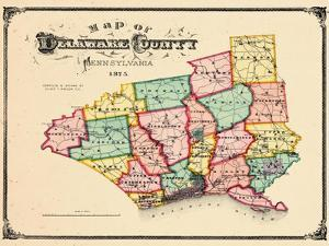 Beautiful Maps of Delaware posters artwork for sale, Posters and ...