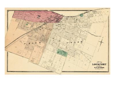 1875, Lockport City - South, New York, United States--Giclee Print