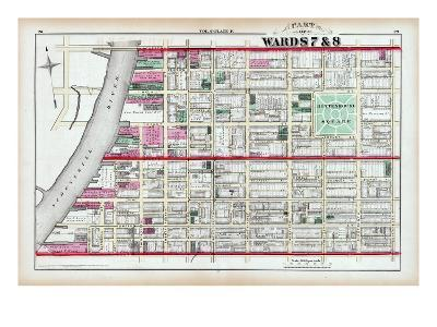 1875, Rittenhouse Square, Philadelphia, Pennsylvania, United States--Giclee Print