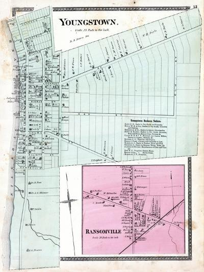1875, Youngstown, Ransomville, New York, United States--Giclee Print