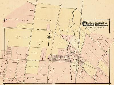 1876, Cresskill, New Jersey, United States--Giclee Print