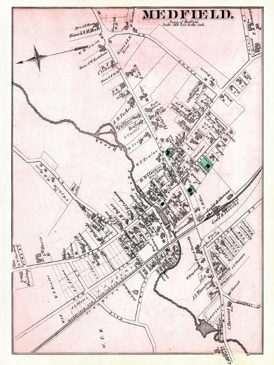 1876, Medfield - Town, Massachusetts, United States--Giclee Print