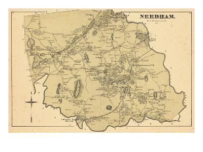 1876, Needham, Massachusetts, United States--Giclee Print