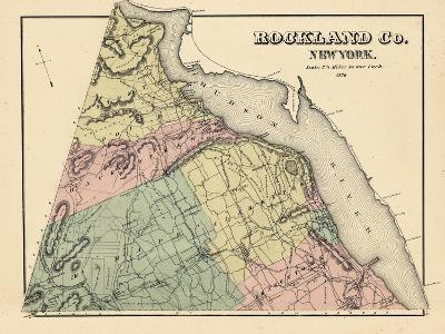1876, Rockland County, New York, United States--Giclee Print