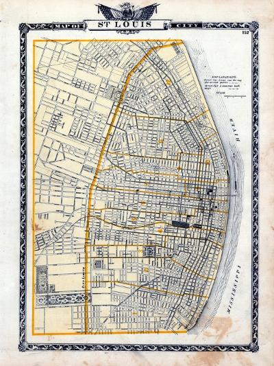 1876, St. Louis - City, Illinois, United States--Giclee Print