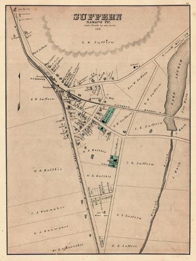 1876, Suffern, New York, United States--Giclee Print