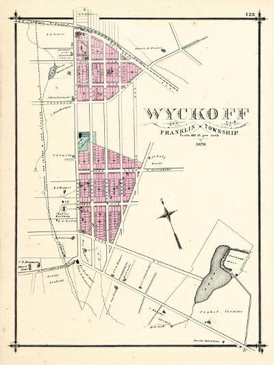 1876, Wyckoff, New Jersey, United States--Giclee Print