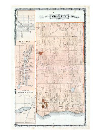 1878, Cramahe Township, Orono, Burnley Village, Canada--Giclee Print