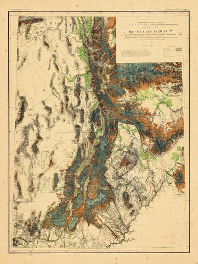 1878, Utah--Giclee Print