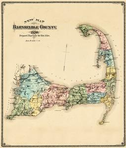 1880, Barnstable County and Cape Cod, Massachusetts, United States