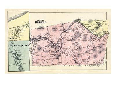 1880, Bethel Town, Bethel West, Bethel South, Maine, United States--Giclee Print