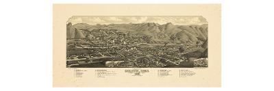 1882, Golden Bird's Eye View, Colorado, United States--Giclee Print