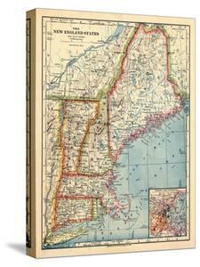 1883, New England 1883, Maine, United States