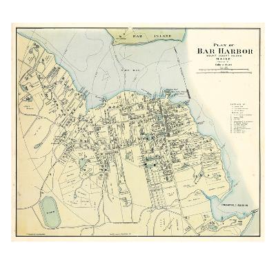 1887, Bar Harbor 1887, Maine, United States--Giclee Print