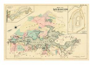 1887, Lake Hopatcong, Morris, Sussex Counties, Landing, New Jersey, United States