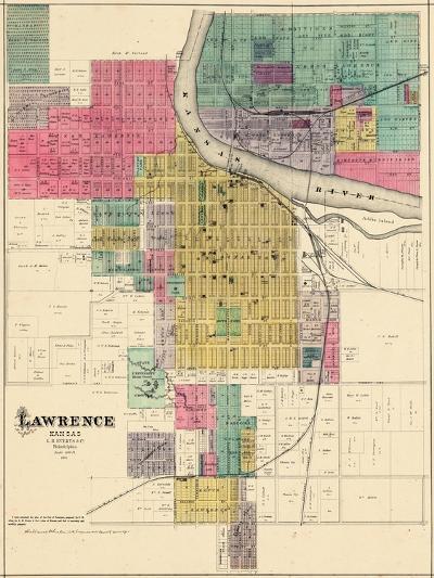 1887, Lawrence, Kansas, United States--Giclee Print