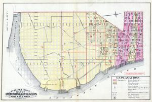 1887, Philadelphia Wards 1, 2, 3, 4, Pennsylvania, United States