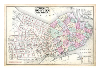 1888, Boston, Massachusetts, United States--Giclee Print