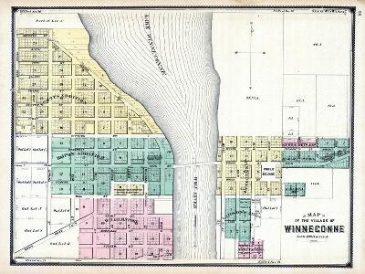 1889, Winneconne, Wisconsin, United States--Giclee Print
