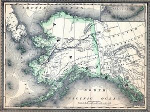 1890, United States, Alaska, North America