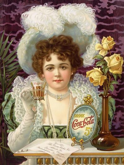 1890s USA Coca-Cola Magazine Advertisement--Giclee Print