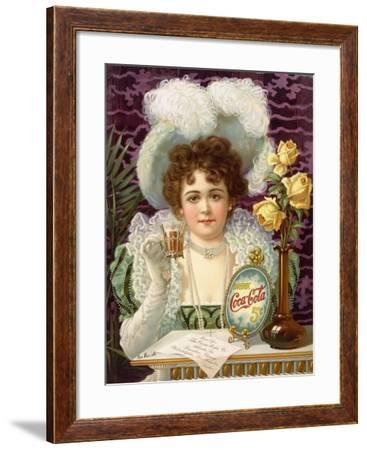 18x24 1890s Victorian Coca-Cola Classic Vintage Style Art Poster