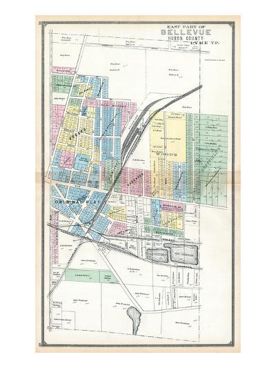 1891, Bellevue - East, Ohio, United States--Giclee Print