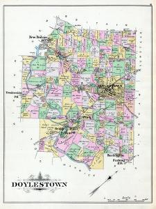 1891, Doylestown, New Britain, Tradesville, Bushington, Furlong, Turk, Pennsylvania, United States