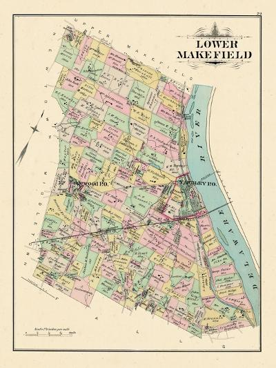 1891, Lower Makefield Township, Yardley, Edgewood, Pennsylvania, United States--Giclee Print