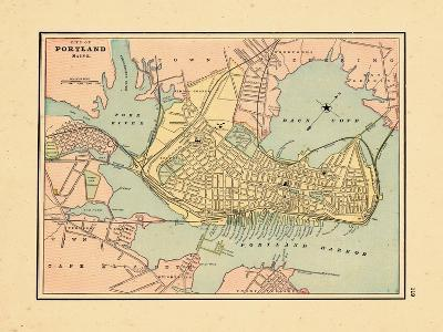 1891, Portland Maine--Giclee Print