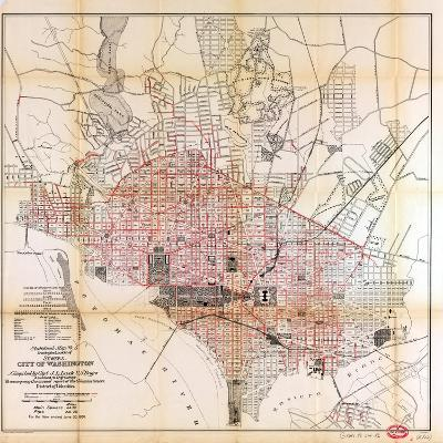1891, Sewers, District of Columbia, United States--Giclee Print