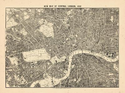 1892, Central London, United Kingdom--Giclee Print