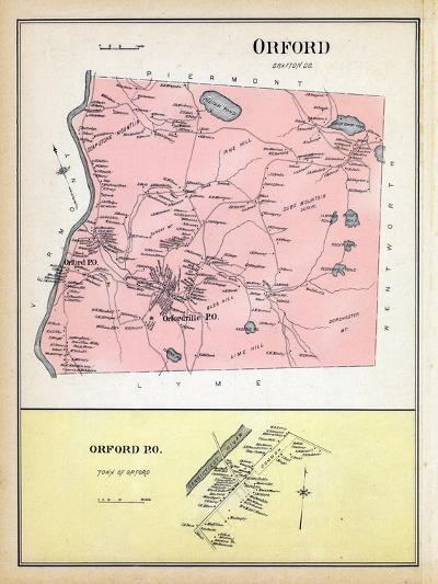 1892, Orford, Orford Town, New Hampshire, United States--Giclee Print