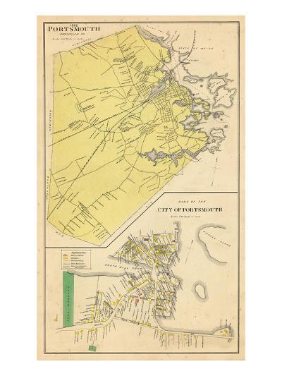 1892, Portsmouth, New Hampshire, United States--Giclee Print