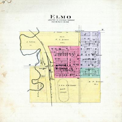 1893, Elmo, Missouri, United States--Giclee Print