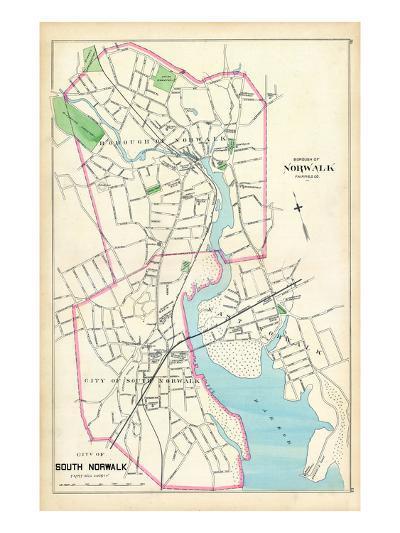 1893, Norwalk Borough, South Norwalk City, Connecticut, United States--Giclee Print