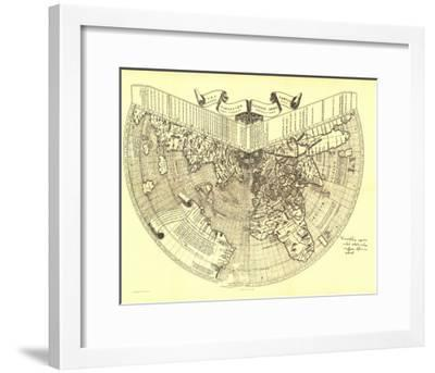 1893 Ruysch 1508 Map-National Geographic Maps-Framed Art Print