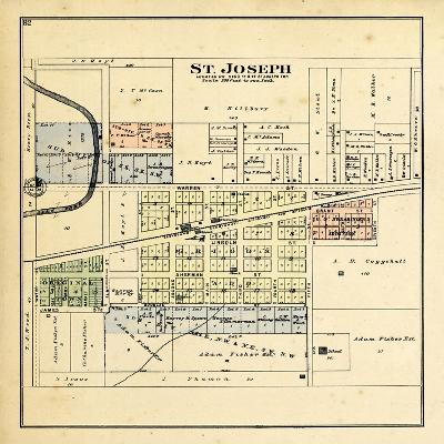 1893, St. Joseph, Illinois, United States--Giclee Print