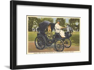 1894 Daimler, Greenfield Village, Dearborn, Michigan