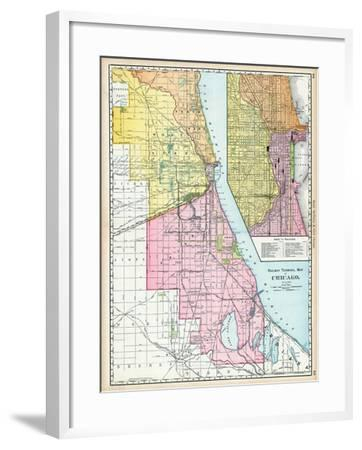 It's just an image of Printable Map of Illinois pertaining to 1800's