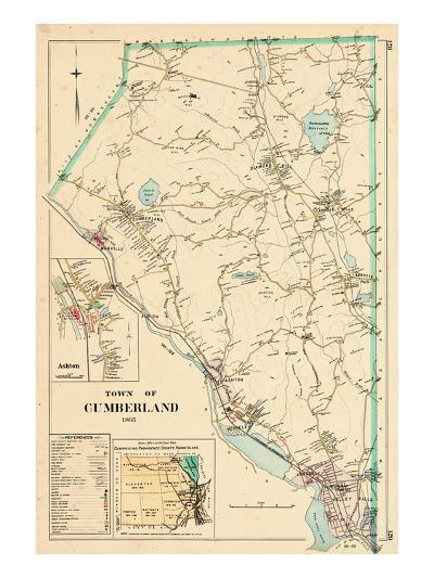 1895, Cumberland Town, Rhode Island, United States--Giclee Print