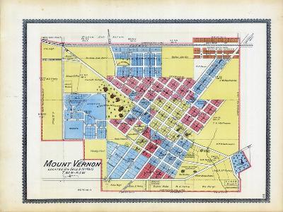 1895, Mount Vernon, Iowa, United States--Giclee Print