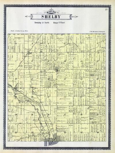 1895, Shelby Township, Utica, Depew Siding, Disco, Michigan, United States--Giclee Print