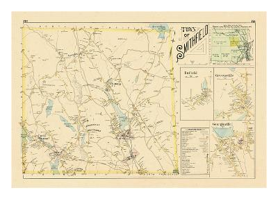 1895, Smithfield, Enfield, Greenville, Georgiaville, Rhode Island, United States--Giclee Print