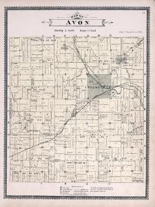 1896, Avon Township, Rochester, Snony Creek, Clinton River, Michigan, United States