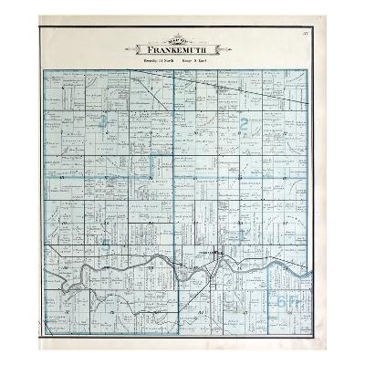 1896, Frankenmuth Township, Dead River, Michigan, United States--Giclee Print