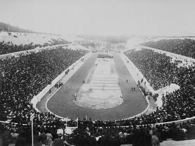 1896 Olympic Games in Athens--Photographic Print