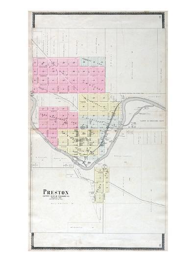 1896, Preston, Minnesota, United States--Giclee Print